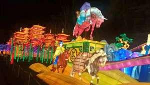 自贡彩灯来到法国,本届加亚克中国彩灯节将持续至明年2月瓷棒